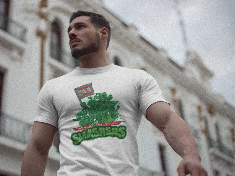 Teenage Mutant Fascism Smashers - T-Shirts